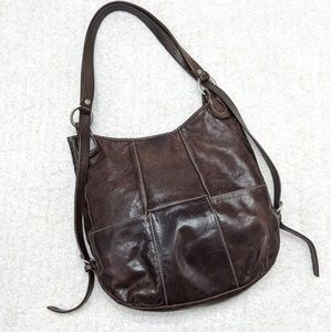 Ellington Charlie Leather Backpack Convertible Bag